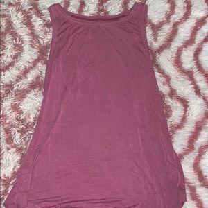 Soft flowy women's tank top
